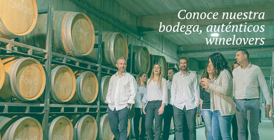 Conoce nuestra bodega, auténticos winelovers